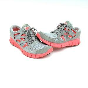 Nike Free Run 2 EXT Gray Crimson 555174-002